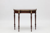 A SUPERB GEORGE III MAHOGANY CONSOLE TABLE IN THE MANNER OF JOHN MCLEAN - REF No. 9051