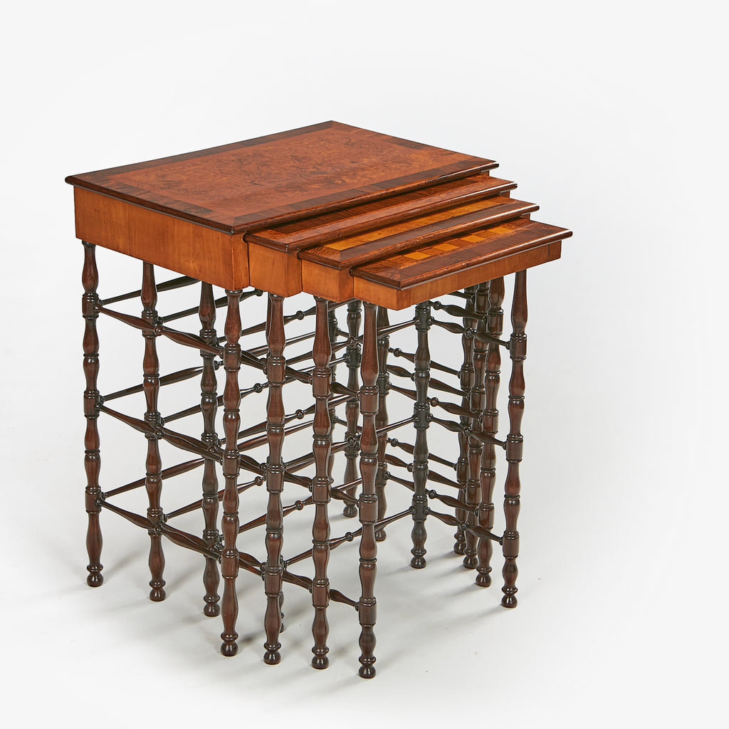 A REGENCY QUARTETTO TABLES BY GILLOWS - REF No. 9058