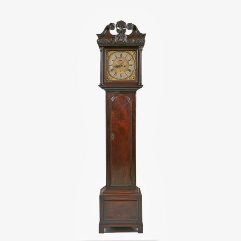 AN IRISH LONGCASE CLOCK BY THOMAS BLUNDELL - REF No. 112