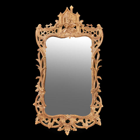 A VERY FINE 19TH CENTURY PIER MIRROR - REF No. 6012