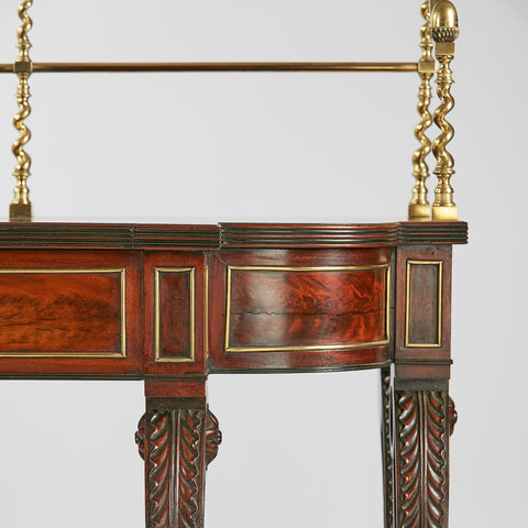 AN EXCEPTIONAL REGENCY SERVING TABLE - REF No. 5006
