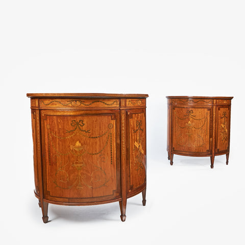 A MAGNIFICENT ORMOLU MOUNTED CHINOSERIE SIDE CABINET - REF No. 4039