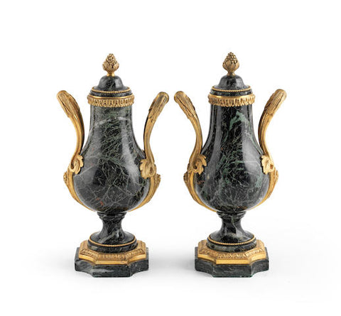A STUNNING PAIR OF EARLY 19TH CENTURY URNS - REF No. 175