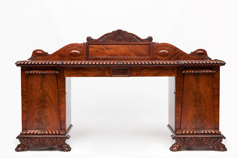 A VERY FINE LATE 19TH CENTURY MAHOGANY SERVING/SIDE TABLE - REF No. 5004