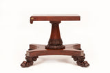 A MAGNIFICENT IRISH REGENCY MAHOGANY CENTER/BREAKFAST TABLE - REF No. 7055