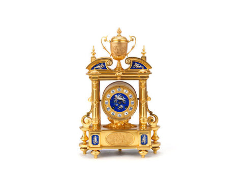 A MAGNIFICENT EARLY 19TH  CENTURY MANTLE CLOCK - REF No. 115