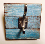 1 Hook White // Shabby Single Coat and Hat hook