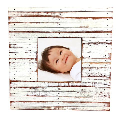 HN 042 LIGHT GRAY // 4X4 PICTURE FRAME MULTI COLOR (available in other colors)