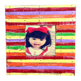 HN 042 EARTH // 4X4 PICTURE FRAME MULTI COLOR (available in other colors)