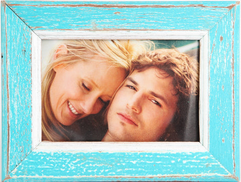 NS-46 // Twinkle Turquoise Chic & Shabby Photo Frame (NS-46)
