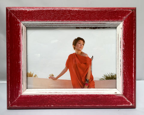 NS-57 // Crimson Red Simple Picture Frame (5x7)