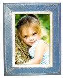 NS-57 // Academy Blue Simple Picture Frame (5x7)