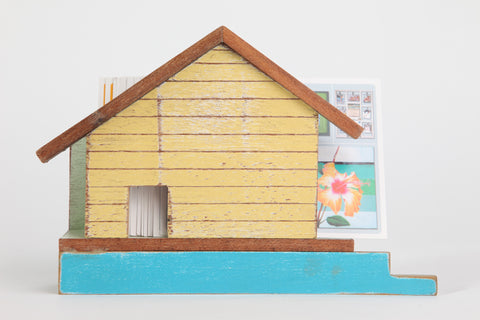 SN0.1 // House Shaped Letter/Card/Napkin holder