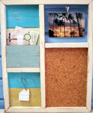SN172 Corkboard // Recycled Wood Multi-Functional Board