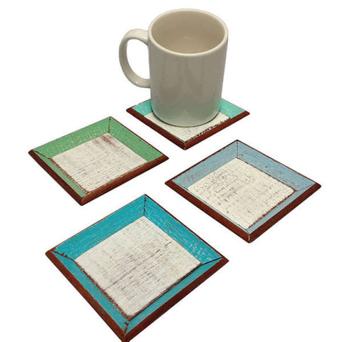 V-CSTR  // Beach Square Coaster Set of 4