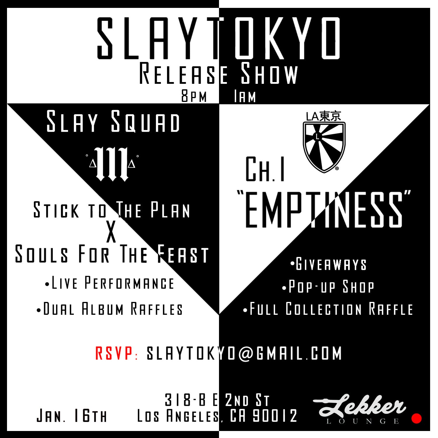 Slaytokyo Release Party