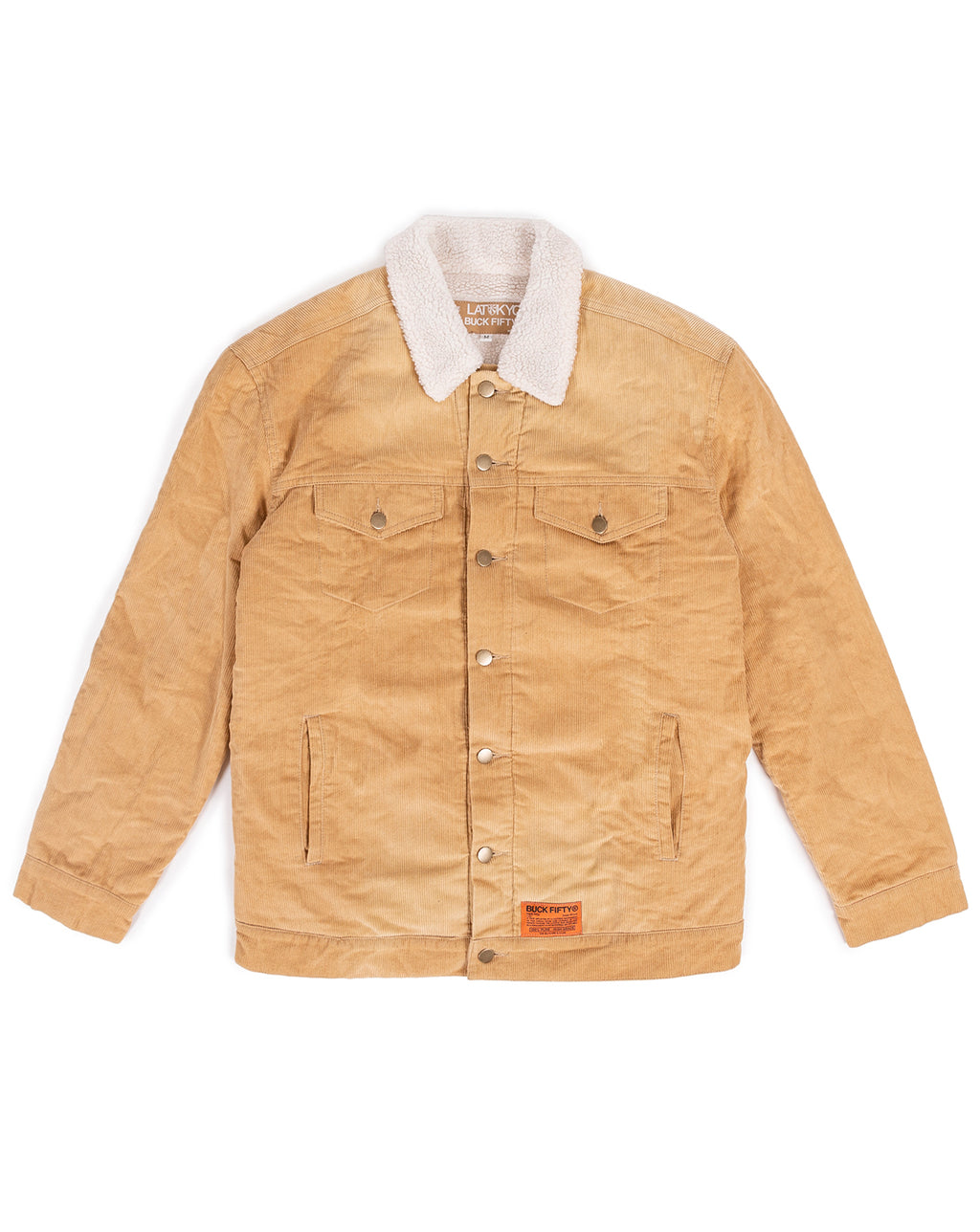 "Latokyo x BUCKFIFTY ""Silence"" Jacket (Wheat)"