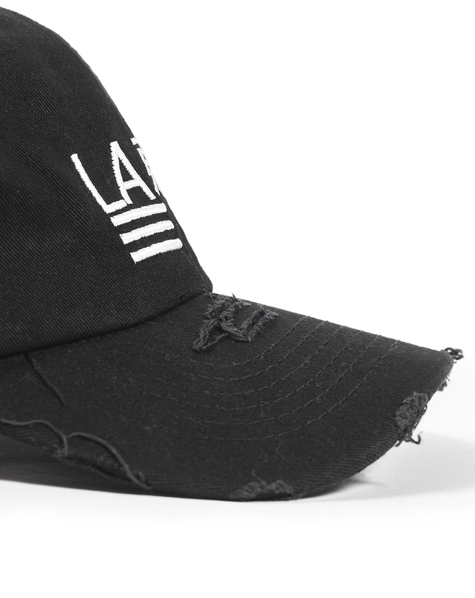 Distressed Logo Cap