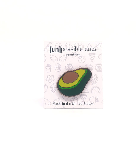 Avocado Enamel Pin
