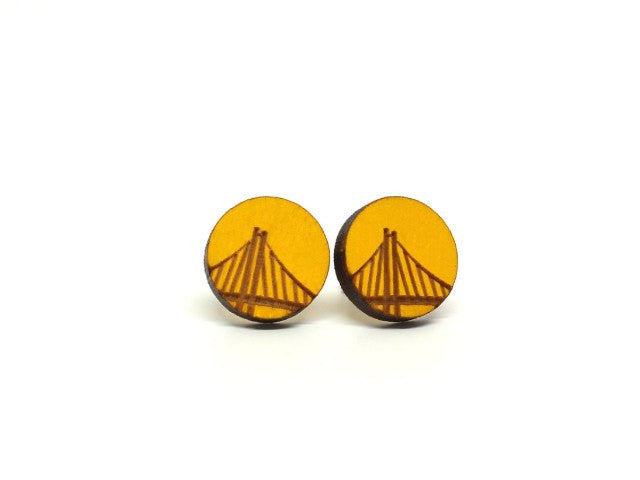 San Francisco Bay Bridge Earrings