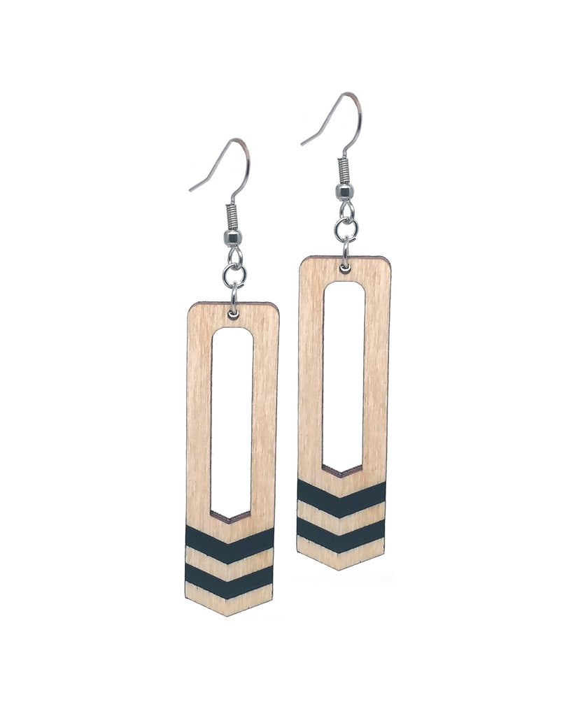 Two Bars Dangle Earrings