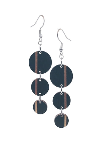 Three Dots Dangle Earrings