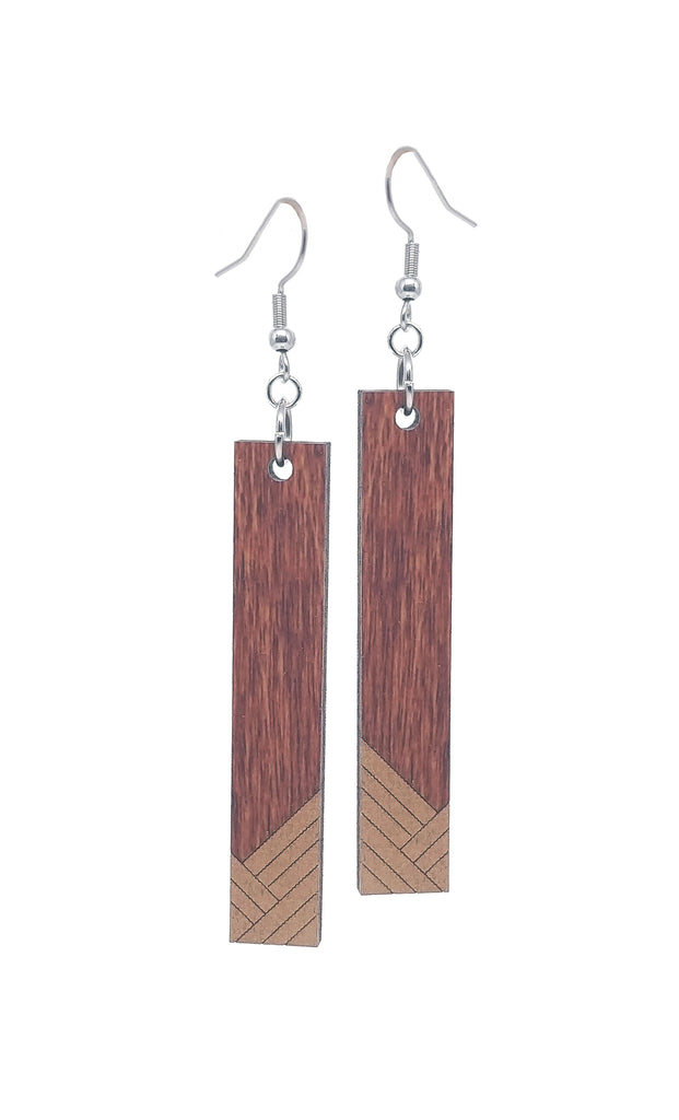 Bands Dangle Earrings
