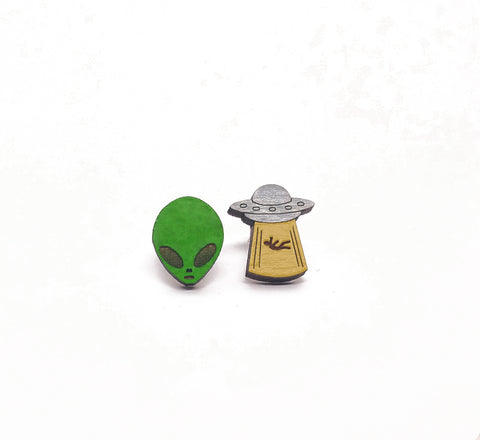 Alien Joyride Earrings