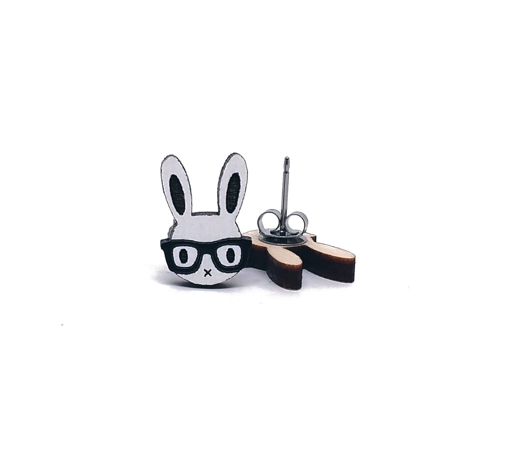Nerd Bunny Earrings