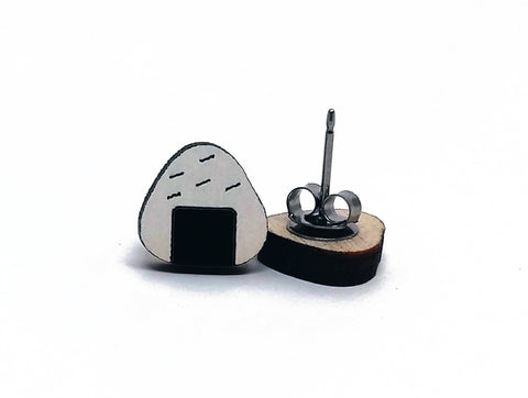 Onigiri Rice Ball Earrings