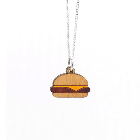Cheeseburger Necklace - Fun Size