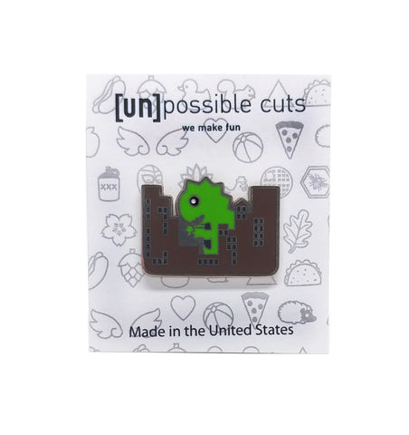 Monster Attack Enamel Pin