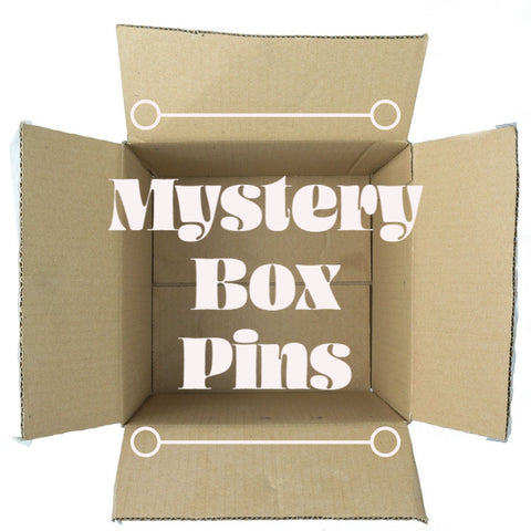 Mystery Box Pins