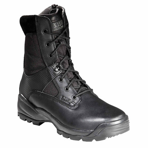 "A.T.A.C. 8"" Side Zip Boot in Black"