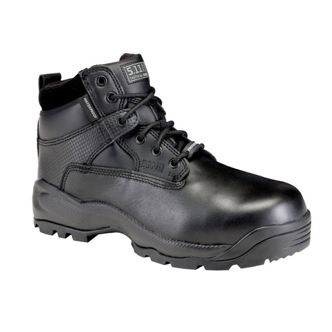 "A.T.A.C. 6"" Shield Side Zip ASTM Boot in Black"