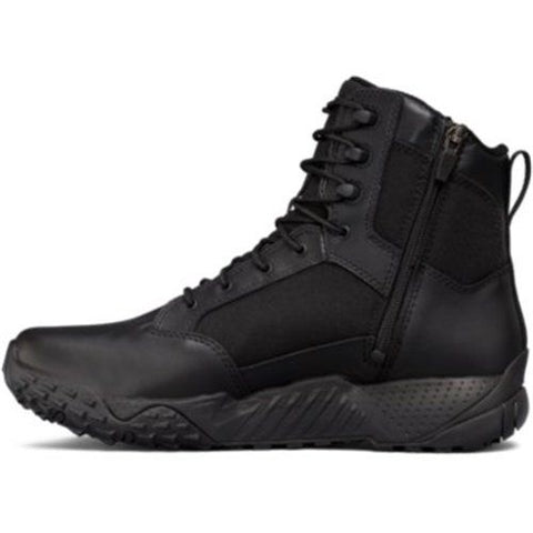 "Under Armour Stellar 8"" Tactical Side Zip Boot - Style 1303129"