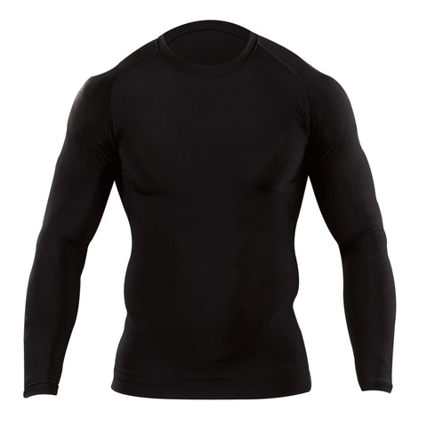 Tight Crew Long Sleeve Shirt in Black