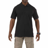 5.11 Short Sleeve Utility Polo in Black