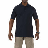 5.11 Short Sleeve Utility Polo in Dark Navy