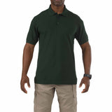 5.11 Short Sleeve Utility Polo in LE Green