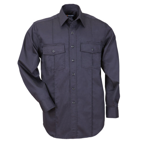 Men's L/S Station Shirt A Class - Non-NFPA in Fire Navy