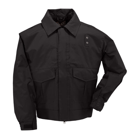 4-in-1 Patrol Jacket in Black