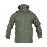 Packable Operator Jacket in Sheriff Green
