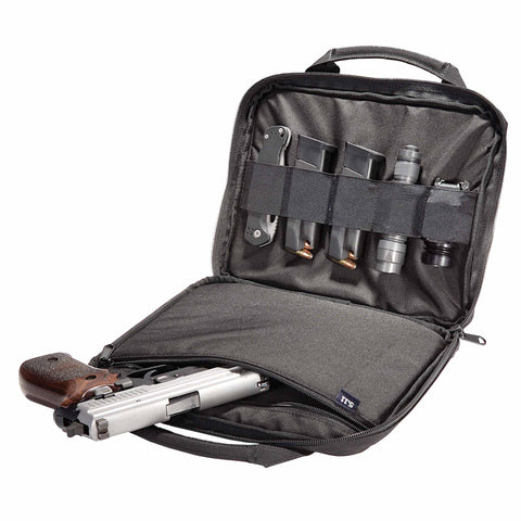 Single Pistol case in Black