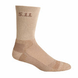 "Level I  6"" Sock - Regular Thickness in Coyote"