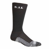 "Level I  9"" Sock - Regular Thickness in Black"
