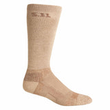 "Level I  9"" Sock - Regular Thickness in Coyote"