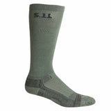 "Level I  9"" Sock - Regular Thickness in Foliage"
