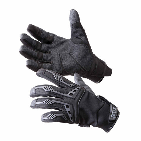 Scene One Gloves in Black