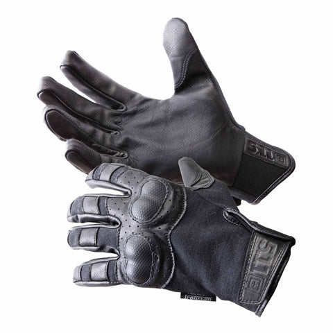 Hard Time Gloves in Black